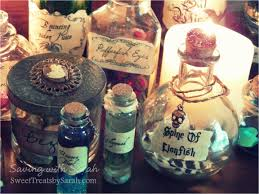 saving with sarah harry potter potion bottles diy free printable