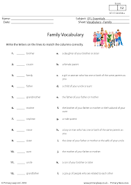 My Family Writing Practice Lesson Plan Education 346 Free Family Friends Worksheets