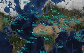 Flightaware Misery Map Are We There Yet The Plane In The Map Musings On Maps