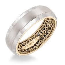 mens wedding band artcarved plain white gold mens wedding bands designer engagement