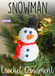 snowman ornament traditions snowman and free pattern