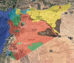 Damascus Syria Map Situation In Syria On January 25 2018 Map Update
