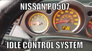 nissan maxima idle air control valve nissan p0507 idle control system idle relearn procedure youtube