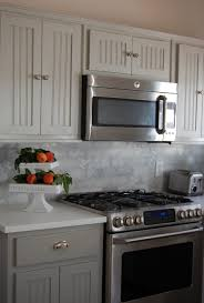 kitchen design of stainless steel backsplash ideas model of