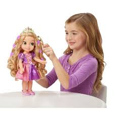 hair glow rapunzel doll disney princess uk