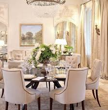 Dining Room Sets With Round Tables Inspiring Fine Round Dining - Round dining room table sets