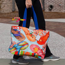 flip flop bag flip flop handbags and totes from all about flip flops