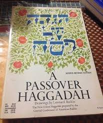 union haggadah signed leonard baskin flower etching etchings and