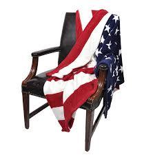 Blue Flag White X Amazon Com Oversized Usa Flag Fleece Throw Blanket 60 Inch X 80