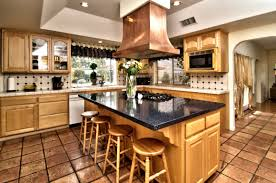 kitchen islands with stove top alder wood chestnut windham door kitchen island with stove top