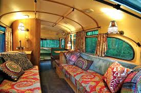 house bus design idea with moroccan style interior home