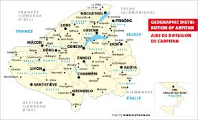 Map Of Switzerland And France by Map Of Arpitania A Region In France Italy And Switzerland