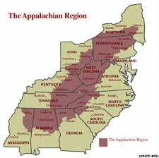 appalachian mountains on map canada s regions appalachian mountains 1 carley cgc1p fall 2012