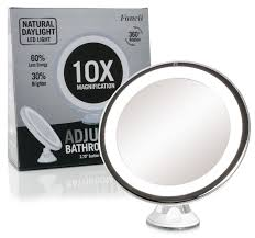 Magnifying Mirror With Light Conair Magnifying Mirror 10x U2013 Harpsounds Co