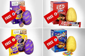 how to get four free easter eggs from tesco