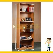 Storage Bookshelf 5 Shelf Bookcase Set Of 3 Pcs Black Wall Bookshelf Adjustable