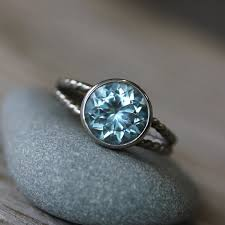 Aquamarine Wedding Rings by The Meaning Of Aquamarine Birthstone Engagement Rings Engagement