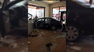 car careens through aurora salon 9news com