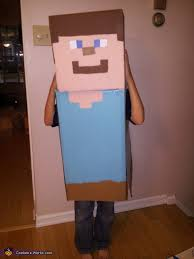 Minecraft Costume Minecraft Steve Costume Diy Photo 5 5