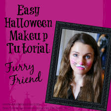 Halloween Bunny Makeup by Southern In Law Diy Four Easy Halloween Face Painting Tutorials