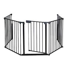 ktaxon baby toddler safety gate for stairs and playing walmart com