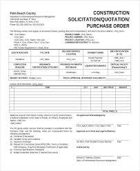 quotation for construction construction service quotation