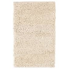 Cheap Shag Rugs White Fuzzy Rug 3piece Set Linear Design Vibrant Blue With White
