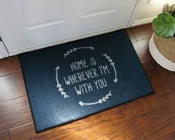 Commercial Doormat 2 U0027 X 3 U0027 Home Is Wherever I U0027m With You Welcome Doormat