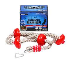 ninjaline ninja for hanging backyard obstacle course