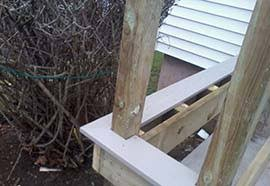 detailed guide to installing composite decks and general information