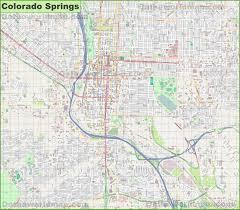 Colorado Map Images by Colorado Springs Maps Colorado U S Maps Of Colorado Springs