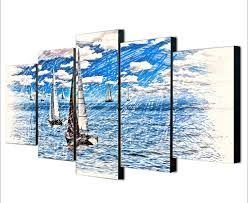 Nordic Decoration Sailing Boat Poster Promotion Shop For Promotional Sailing Boat