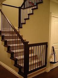 Banister Stair Best 25 Baby Gates Stairs Ideas On Pinterest Farmhouse Pet