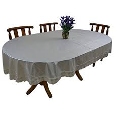 tablecloth for oval dining table buy fancy mart oval shape dining table pvc crush sheet with designer