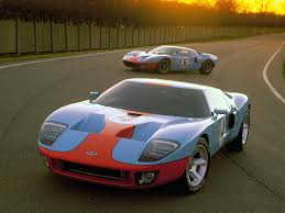 gulf racing mustang vintage footage showcases the ford gt40