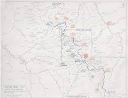 Lille France Map by First World War Com Battlefield Maps Western Front