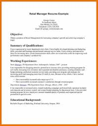 retail manager resume template retail resume exle retail manager cv template resume exles