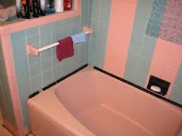 Black And Pink Bathroom Ideas 50s Un Master Pink U0026 Baby Blue Bathroom This Is Awful Pink U0026 Lt