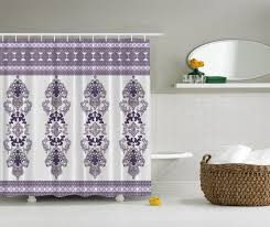 damask shower curtain damask shower curtain house on hold damask decor classic design elegant decorations fabric shower curtain extra long