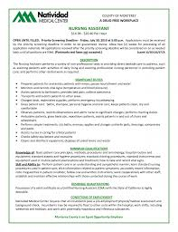 Sample Of Skills In Resume by Hha Resume Cna Home Health Care Resume Examples Breakupus Sample
