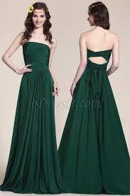 convertible dark green bridesmaid dress evening gown 07154704