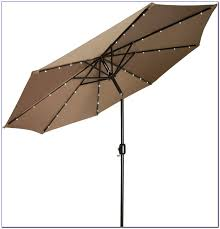 Patio Umbrella With Led Lights by Patio Umbrella With Solar Lights And Bluetooth Speaker Patios