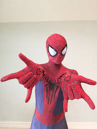 halloween spiders for sale the amazing spider man 2 replica suit costume cosplay overview