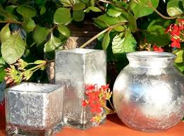 How To Make A Mercury Glass Vase Make Your Own Decorative Mercury Glass Vases Votives