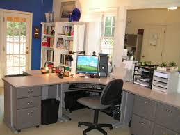 decorations simple home office design ideas with white table