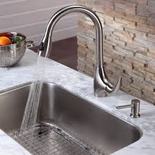 Where To Buy Kitchen Faucet Stainless Steel Kitchen Sink Combination Kraususa Com