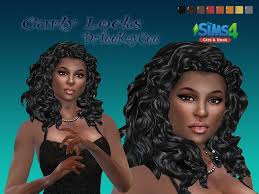 the sims 4 natural curly hair sims 4 hair curly