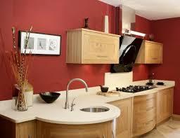 wandfarbe fr kche wandfarbe küche ideen ziegelrot ahorn schränke küche