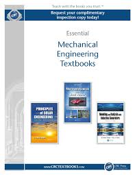 mechanical engineering by crc press issuu