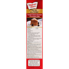 duncan hines signature cake mix german chocolate 16 5 oz